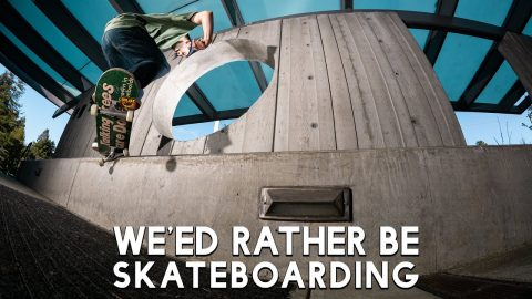 "Satori' Wheels' ""We'ed Rather Be Skateboarding"" Promo 
