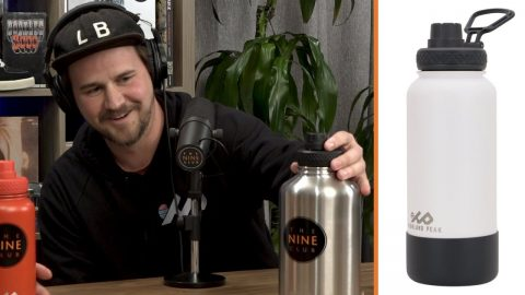 Scott Kane's Reusable Drink-Ware Company For Skaters! - Highland Peak | The Nine Club Highlights