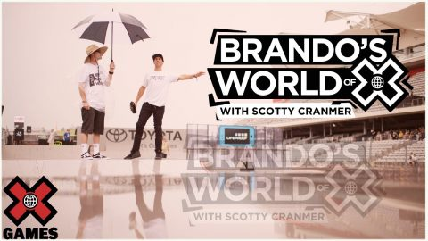 SCOTTY CRANMER: I Did A Halftime Show At Age 9 | World of X Games | X Games