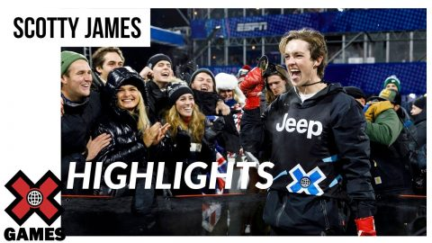 Scotty James HIGHLIGHT REEL | X Games Aspen 2020 | X Games