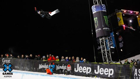 Scotty James wins gold in Monster Energy Men's Snowboard SuperPipe | X Games Aspen 2020 | X Games