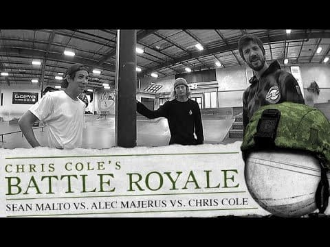 Sean Malto, Alec Majerus & Chris Cole - Battle Royale - The Berrics