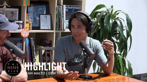 Sean Malto Hit His Head So Hard, He Threw Up! | The Nine Club Highlights