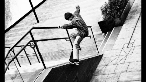 Seb Batty Grey video part - Grey Skate Mag