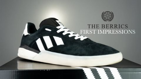 See How Adidas' 3ST.004 Shoes Skate - First Impressions | The Berrics