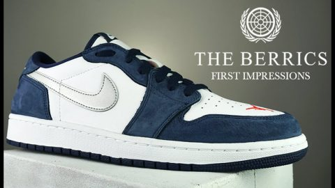 See How The Eric Koston Nike SB x Jordan 1 Lows Skate | First Impressions | The Berrics