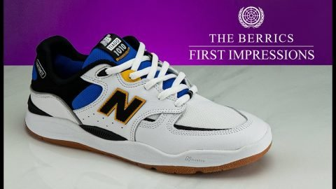 See How The New Balance Numeric Tiago 1010 Skates | First Impressions | The Berrics
