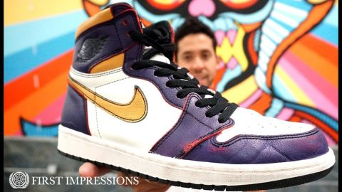 See How The Nike SB x Air Jordan 1 'LA To Chicago' Dunks Skate | First Impressions | The Berrics