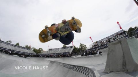 Semifinal Highlights - Women's Pro Tour | Malmo, Sweden | 2018 Vans Park Series | Park Series
