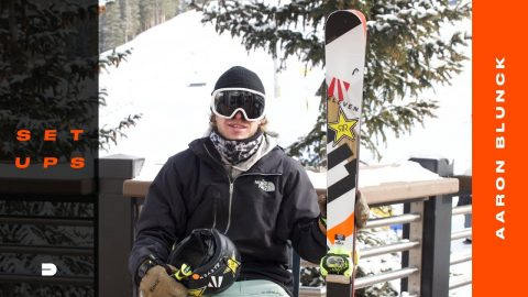 Setups: Aaron Blunck Reveals His Seasoned Ski Gear and Tuning Techniques | Dew Tour