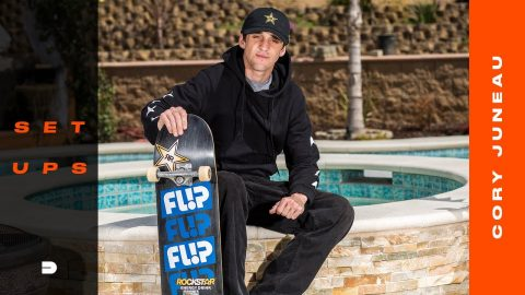 Setups: Cory Juneau Dials in New Board Sponsor and Components | Dew Tour