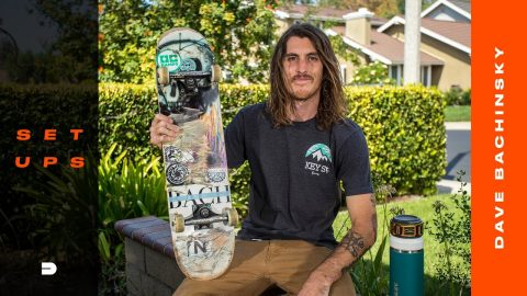 Setups: Dave Bachinsky's Recyclable, Environmentally Conscious Skateboard Gear | Dew Tour