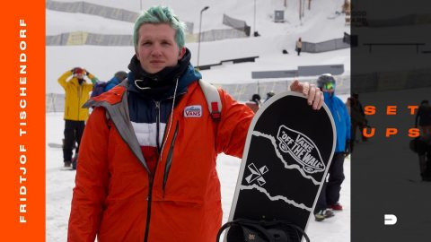 "Setups: Fridtjof ""Fridge"" Tischendorf's Snowboard Gear and Spec Check 