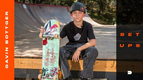 Setups: Gavin Bottger's Skateboard Gear is Perfectly Dialed | Dew Tour