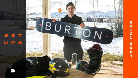 Setups: Jake Pates' Staple Snowboard Gear and Outerwear Breakdown | Dew Tour