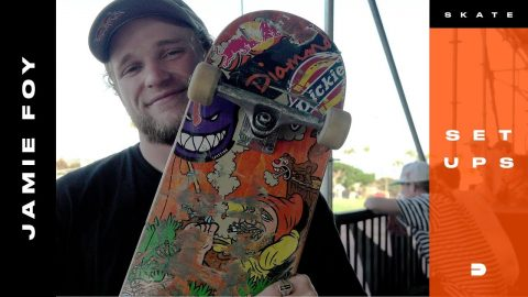 Setups: Jamie Foy's Loose Adjustments for a Solid Skateboard | Dew Tour