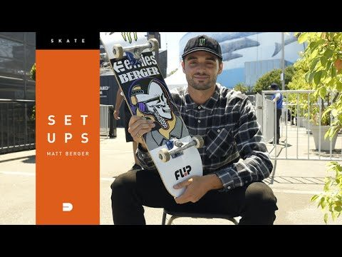 Setups: Matt Berger Shows us how He Locks down His Skateboard Setup - Dew Tour