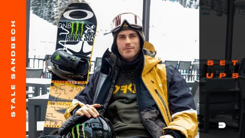 Setups: Stale Sandbech's Head-to-Toe Signature Snowboard Gear | Dew Tour