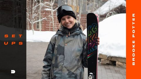 Setups: Street Skier Brooke Potter Details Her Go-To Gear Specs and Personal Tweaks | Dew Tour