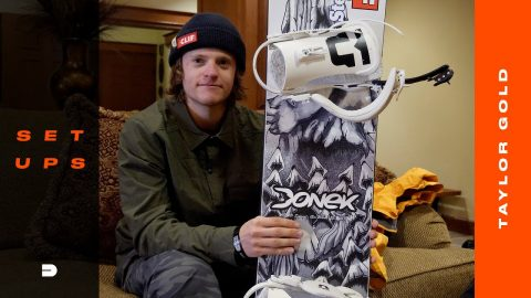 Setups: Taylor Gold's Tailor-Made Halfpipe Snowboard Gear | Dew Tour