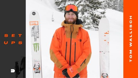 Setups: Tom Wallisch's Powder Specific Ski Gear Setup | Dew Tour