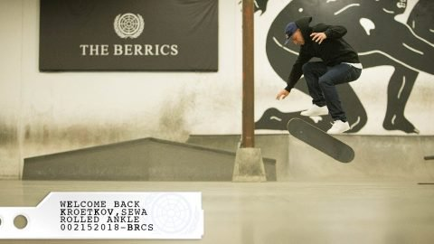 Sewa Kroetkov - Welcome Back! - The Berrics