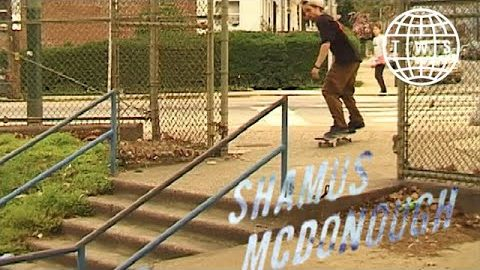 Shamus McDonough, Crop Circles Part | TransWorld SKATEboarding