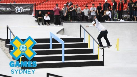 Shane O'neill wins bronze in Men's Skateboard Street  | X Games Sydney 2018 | X Games