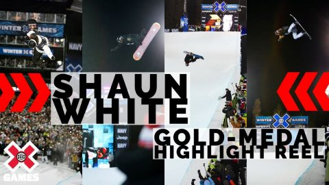 SHAUN WHITE: Gold-Medal SuperPipe HIGHLIGHT REEL | X Games | X Games