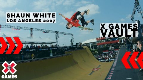 Shaun White's First Skateboarding Gold: X GAMES THROWBACK   World of X Games   X Games