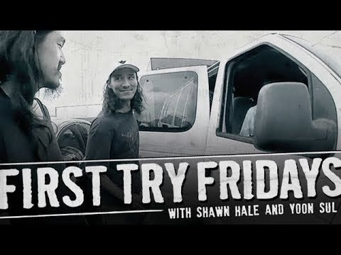 Shawn Hale - First Try Friday - The Berrics