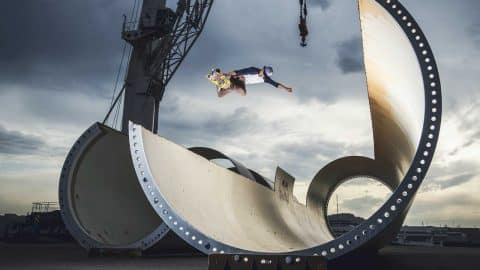 Sheckler & Co. Skate a Wind-Turbine Park - Red Bull