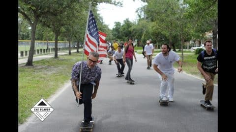 #SHMF for Go Skateboarding Day: A Growing Backyard Scene with Family and Friends in Tampa - TheBoardr