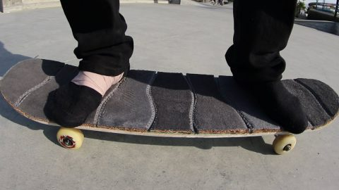 SHOE INSOLES GRIP TAPE!   YOU MAKE IT WE SKATE IT EP 165 - Braille Skateboarding