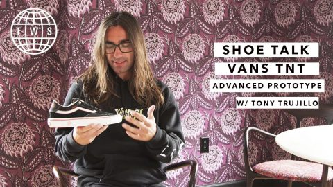 Shoe Talk: Tony Trujillo, Vans TNT Advanced Prototype | TransWorld SKATEboarding