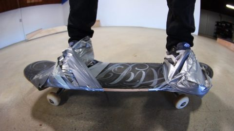 SHOES DUCT TAPED TO THE BOARD | STUPID SKATE EP 80 - Braille Skateboarding