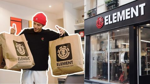 SHOPPING SPREE AT ELEMENT STORE PARIS - Chris Chann