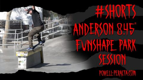 "#Shorts Zach Doelling - Anderson 8.45"" Skateboard 