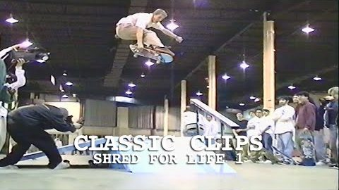 Shred For Life 1 East Coast Skateboard Benefit Demo 1996 Edison, NJ Classic Clips Event | Skateintheday