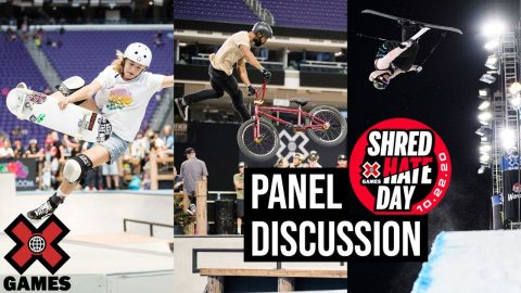 SHRED HATE DAY: Live Panel | World of X Games | X Games