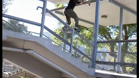 Sierra Fellers Tailslide Raw Cut | E. Clavel