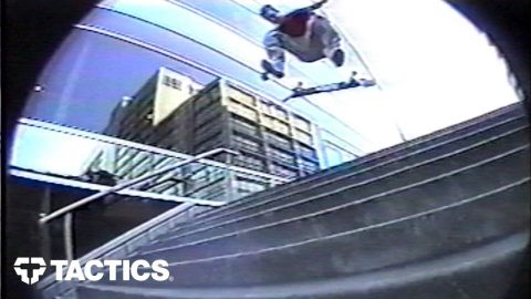 Silas Baxter-Neal Throwback 2000 Skate Footy - Tactics | Tactics Boardshop