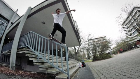 Simon Gärtner – Grotesque Welcome Part - SOLO Skateboard Magazine