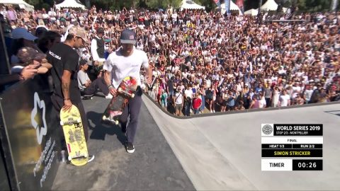 Simon Stricker | 3rd place - SNIPES Skateboard Street Pro Final | FISE Montpellier 2019 | FISE