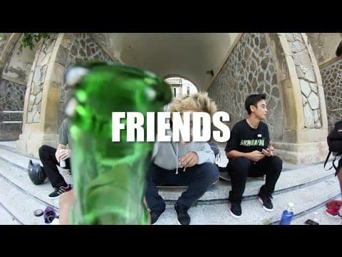 SK8MAFIA VIDEO 2016 FRIENDS SECTION - SK8MAFIATV