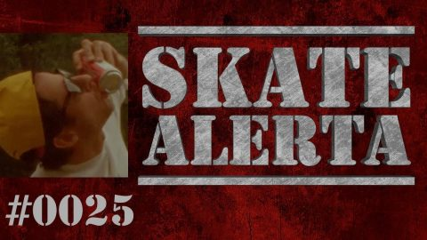 Skate Alerta #0025 - Kodak X Girl, Converse X Chocolate, Animal Chin e mais - Black Media