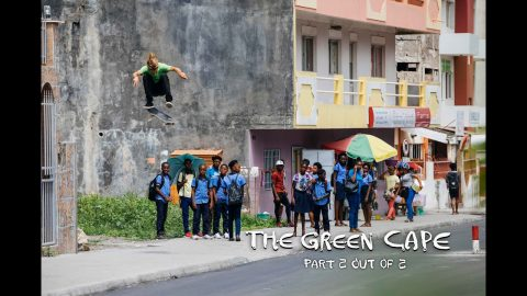 Skate Cape Verde w/ Jaws, Dakota Servold & Crew | THE GREEN CAPE Part Two | Red Bull Skateboarding