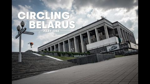 Skate Europe's Forgotten Country with Cody Lockwood, Max Kruglov & Crew | CIRCLING BELARUS Part 1 | Red Bull Skateboarding