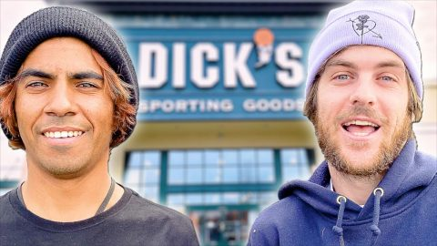 SKATE EVERYTHING WARS DICKS SPORTING GOODS! THE SEQUEL! | Braille Skateboarding