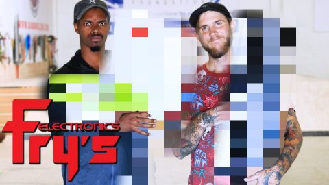 SKATE EVERYTHING WARS FRY'S ELECTRONICS | SKATE EVERYTHING WARS EP. 18 | Braille Skateboarding